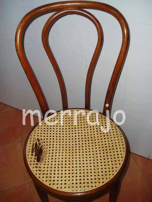 Manualidades merrajo yoli restaurar silla de rejilla - Reparacion de sillas de rejilla ...