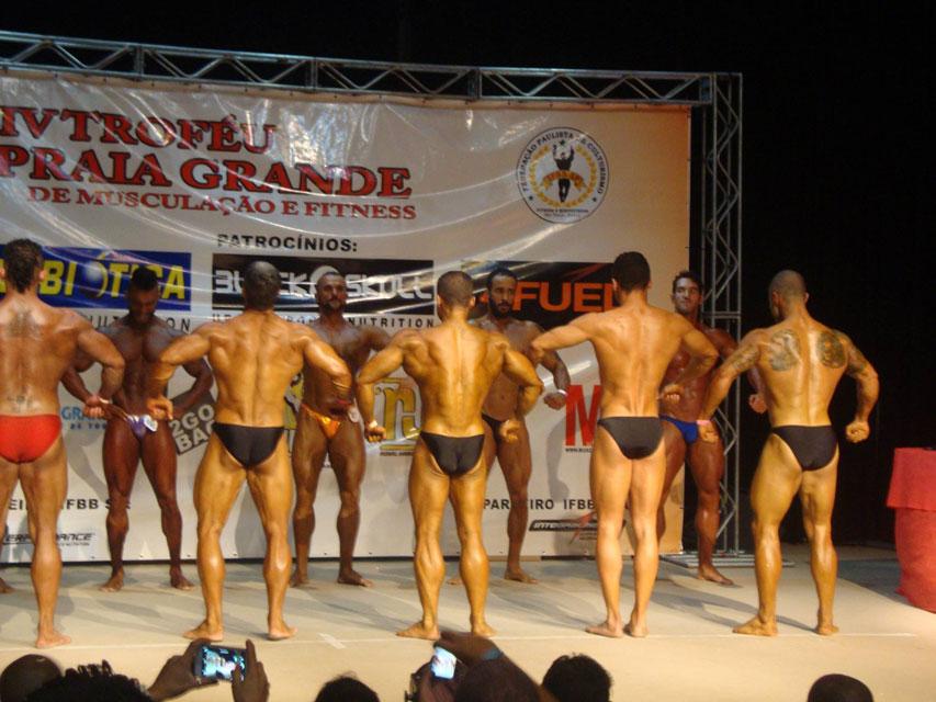 Rodrigo Peixoto se apresenta ao lado de outros atletas da categoria Sênior. Foto: Arquivo pessoal