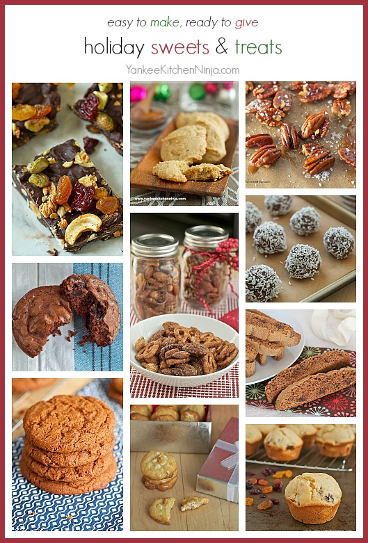 Easy to make and ready to give recipes for all kinds of holiday sweets and treats
