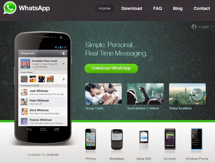 website resmi whatsapp
