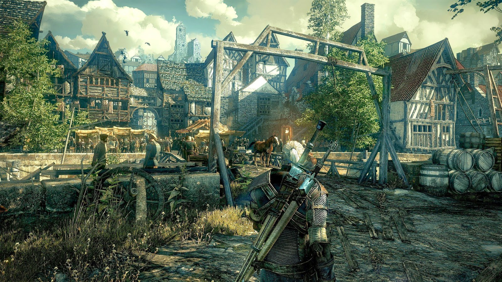 The Witcher 3 y su gameplay en el E3 2014