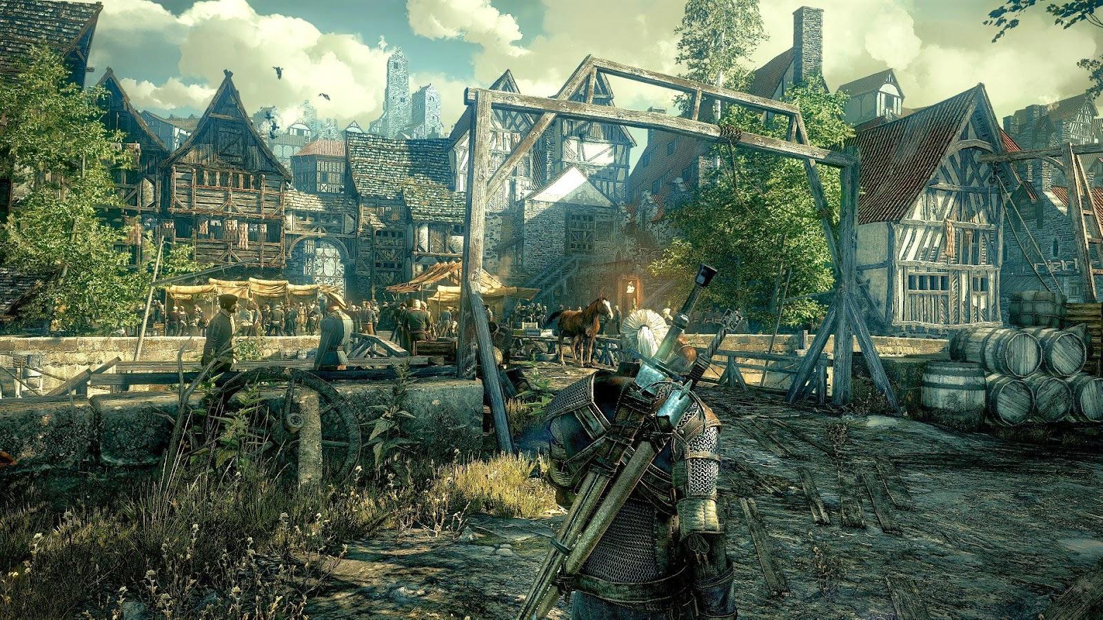 The Witcher 3 y su gameplay en el E3 2014