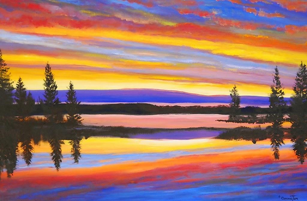 pinturas-de-paisajes-romanticos-al-oleo