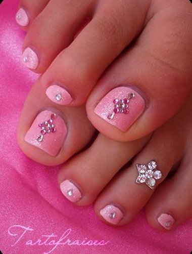 Pictures of nail art designs for toes : Nail art designs for toes