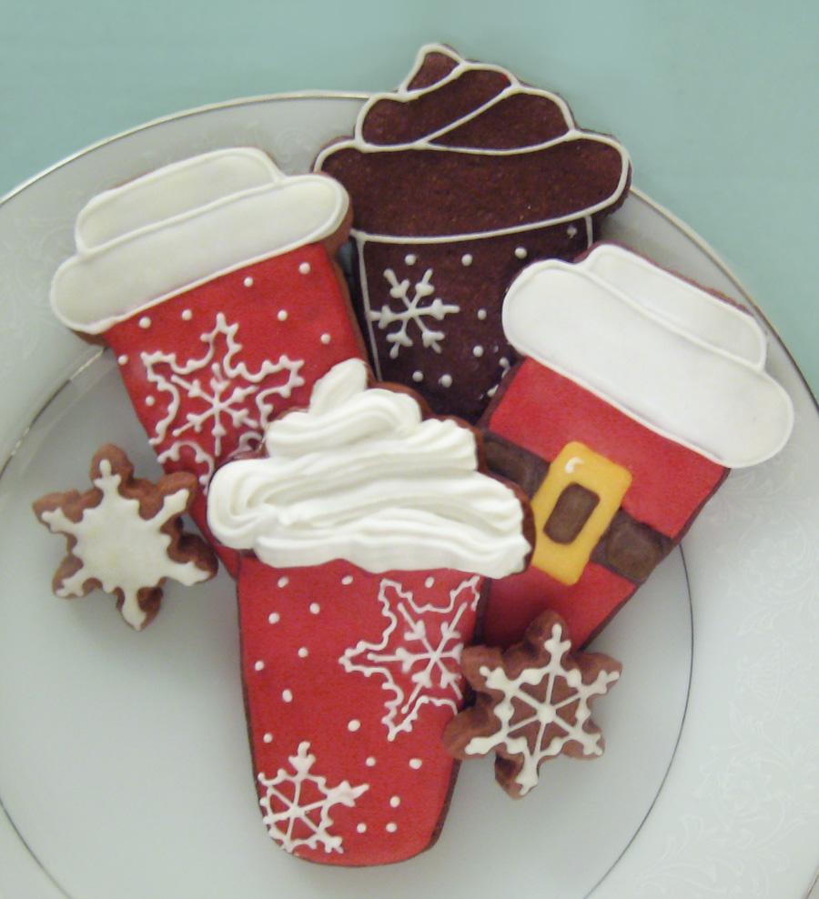 Christmas Cafe Lattes