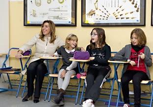 Gel n noticias la presidenta de la junta de andaluc a - Spa en mairena del aljarafe ...