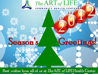 Season's Greetings from the Art of Life Health Centre, Toronto, ON