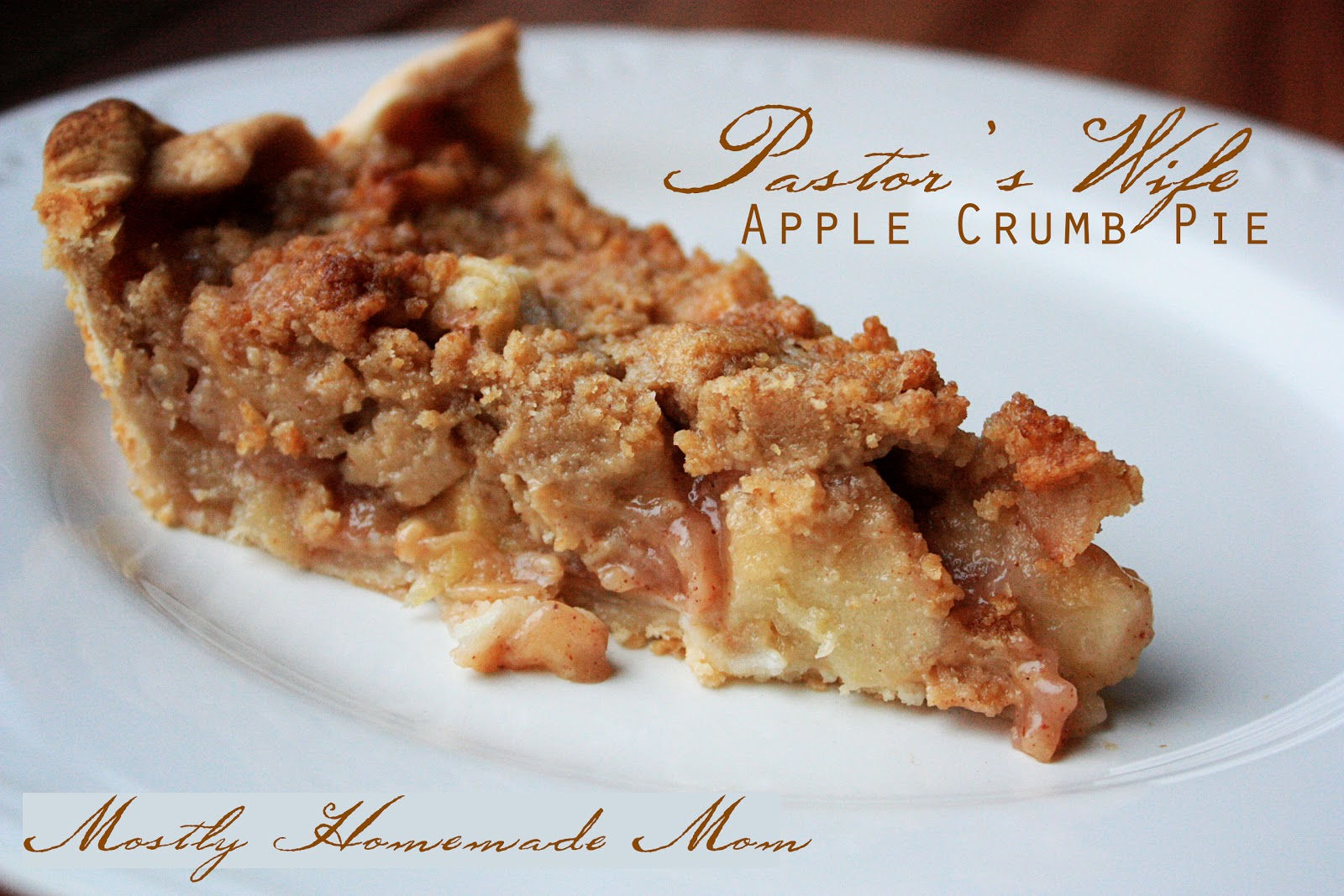 Pastor's Wife Apple Crumb Pie - Crazy Cooking Challenge | Mostly ...