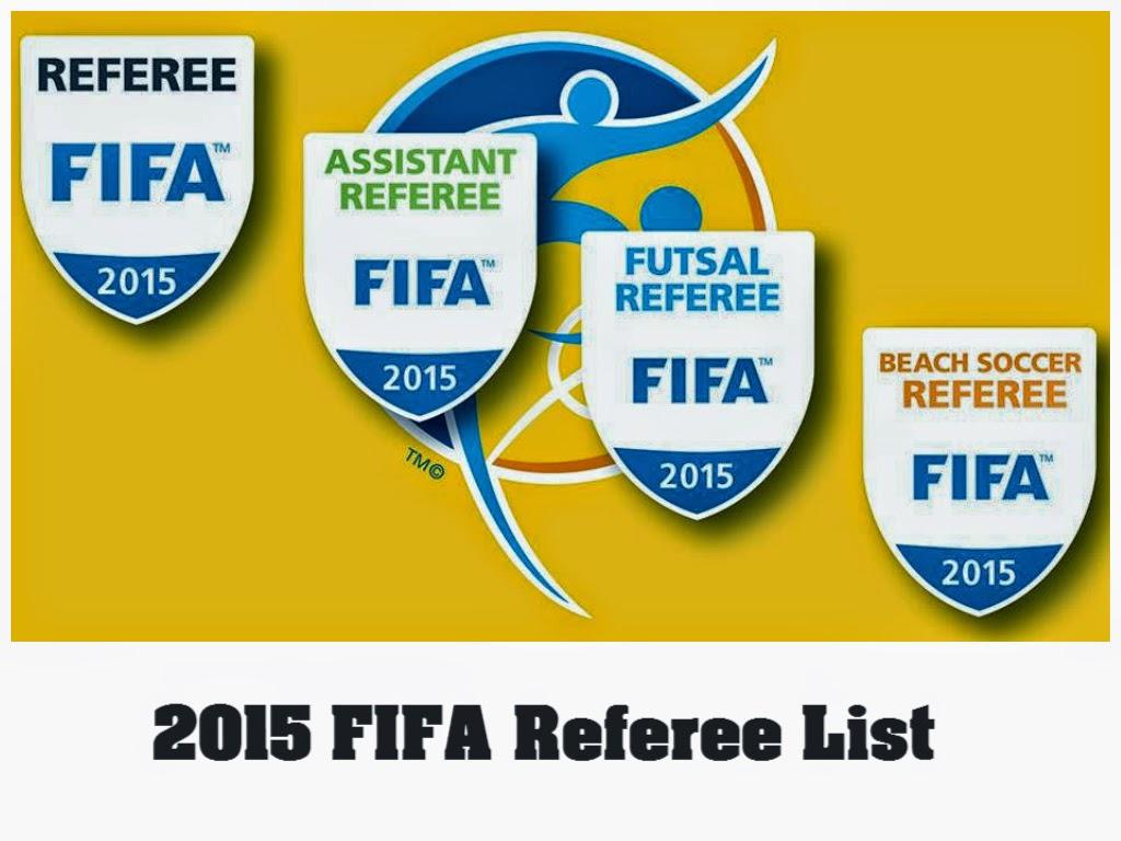 2015 Fifa Referees