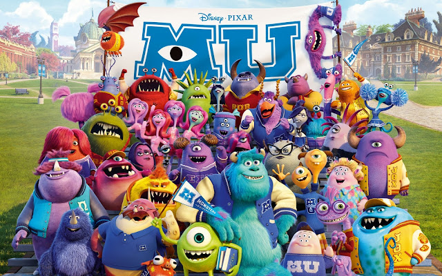 20 Wallpapers de Monsters University