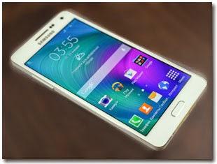 Samsung Galaxy A5 с алюминиевым корпусом.
