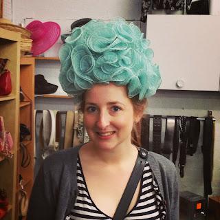 vintage hat op-shop find
