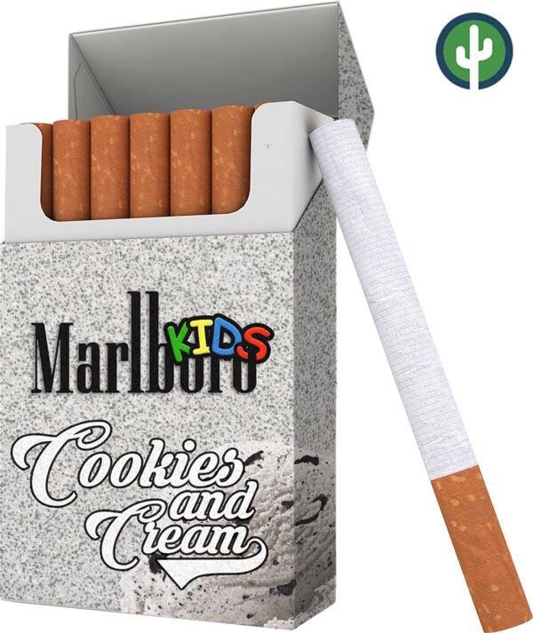 How much tar is in a Marlboro Red cigarette