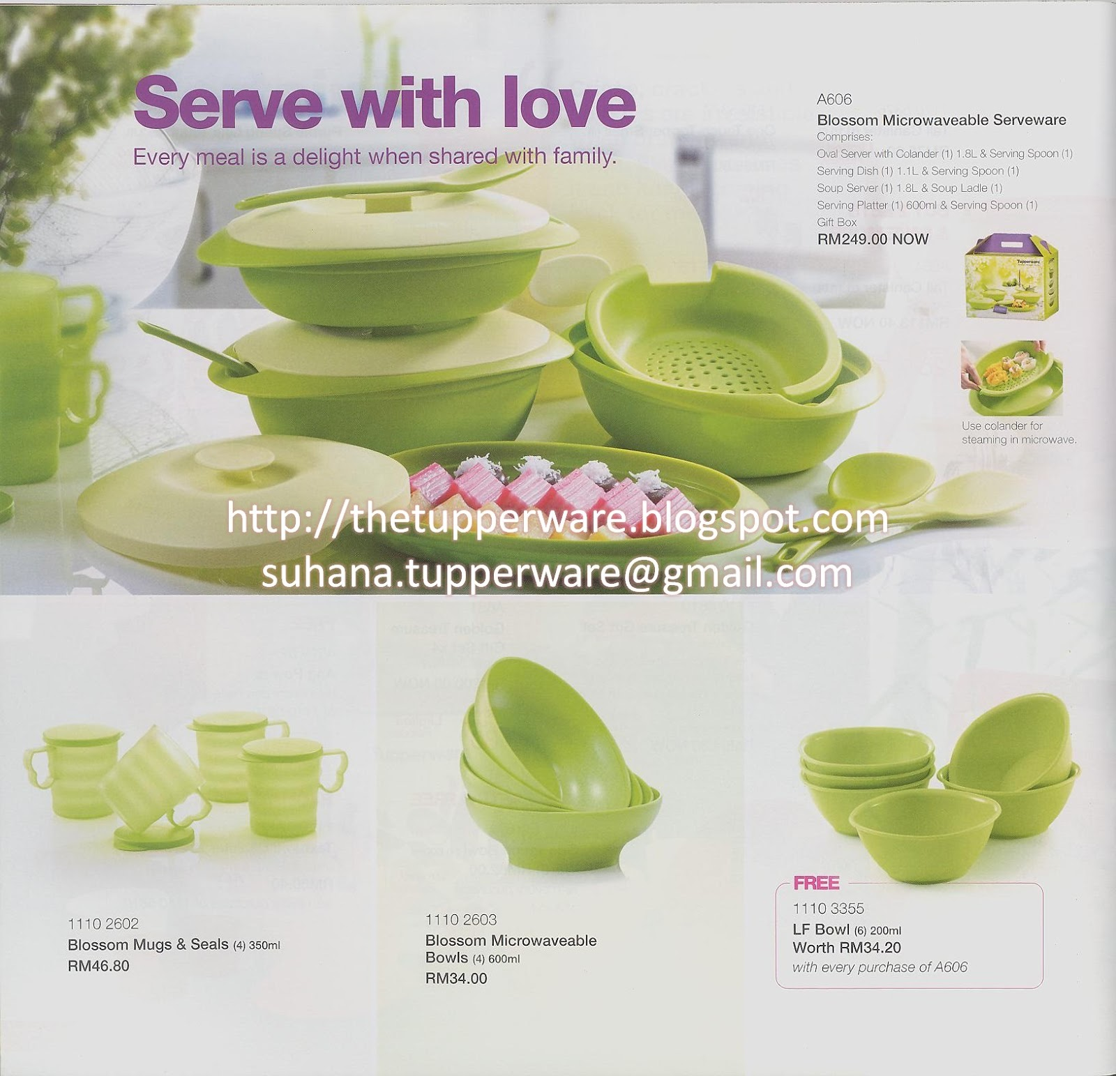 Tupperware Catalogue 1/2013: 2 Jan - 9 Feb 2013