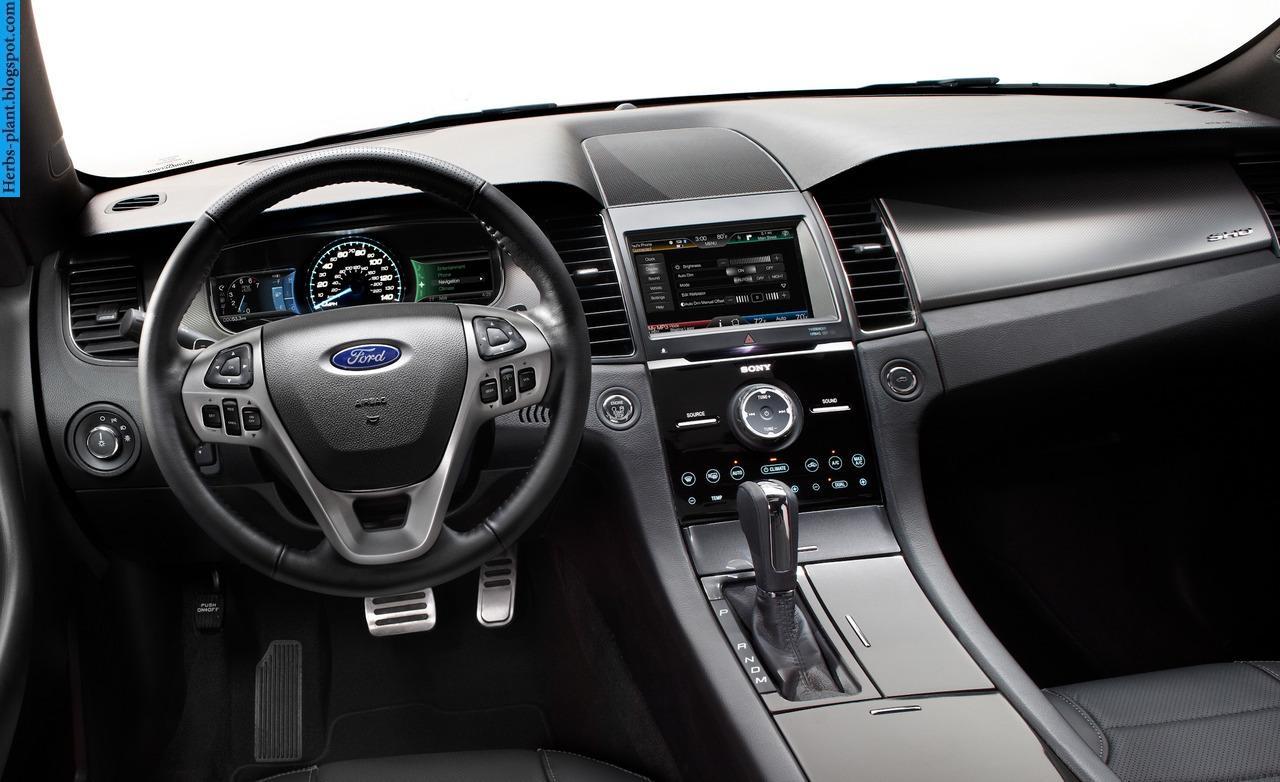 Ford taurus car 2013 dashboard - صور تابلوه سيارة فورد تورس 2013