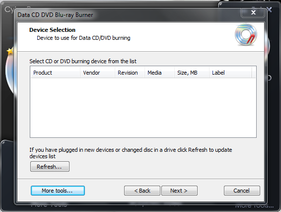 Download : CyberPower Disc Creator 4.2.5 + Serial   Mediafire (3 MB)