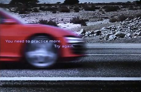 imagen borrosa del nuevo modelo del Audi r8 en la app ScreenShot Ad