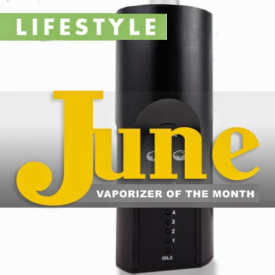 June vaporizer of the month is the Arizer Solo