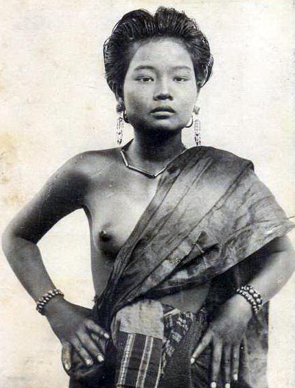 Jeune femme du Laos