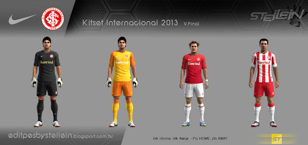 PES 2013 Internacional 2013 Kits by Steilein