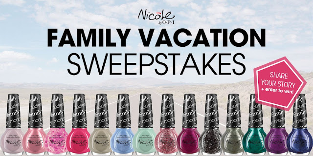 Nicole by OPI Modern Family Collection Sweepstakes!