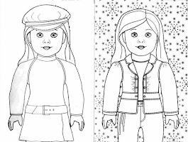 Coloring Paper Dolls To Print