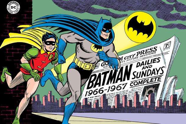 Batman cartoon strip
