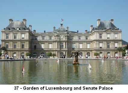 Discover paris and its region paris and ile de france - Le jardin gourmand luxembourg ...