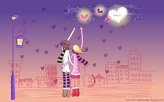 cute+valentines+day+Cartoon+Couple+love+%25281%2529