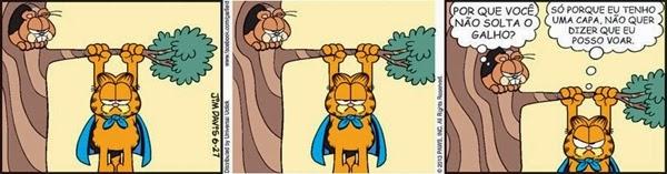 tirinha, Garfield, Jim Davis