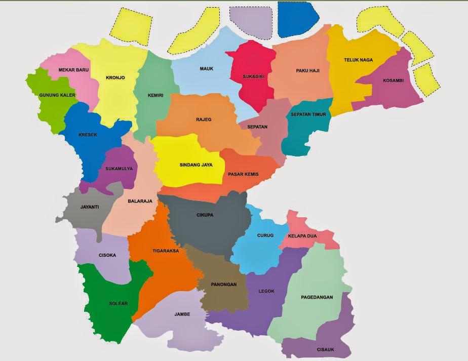 bimasislam Peta Kabupaten Tangerang