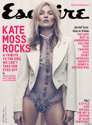 2013 Esquire Cover is Kate's First Men's Magazine Appearance In 17 Years