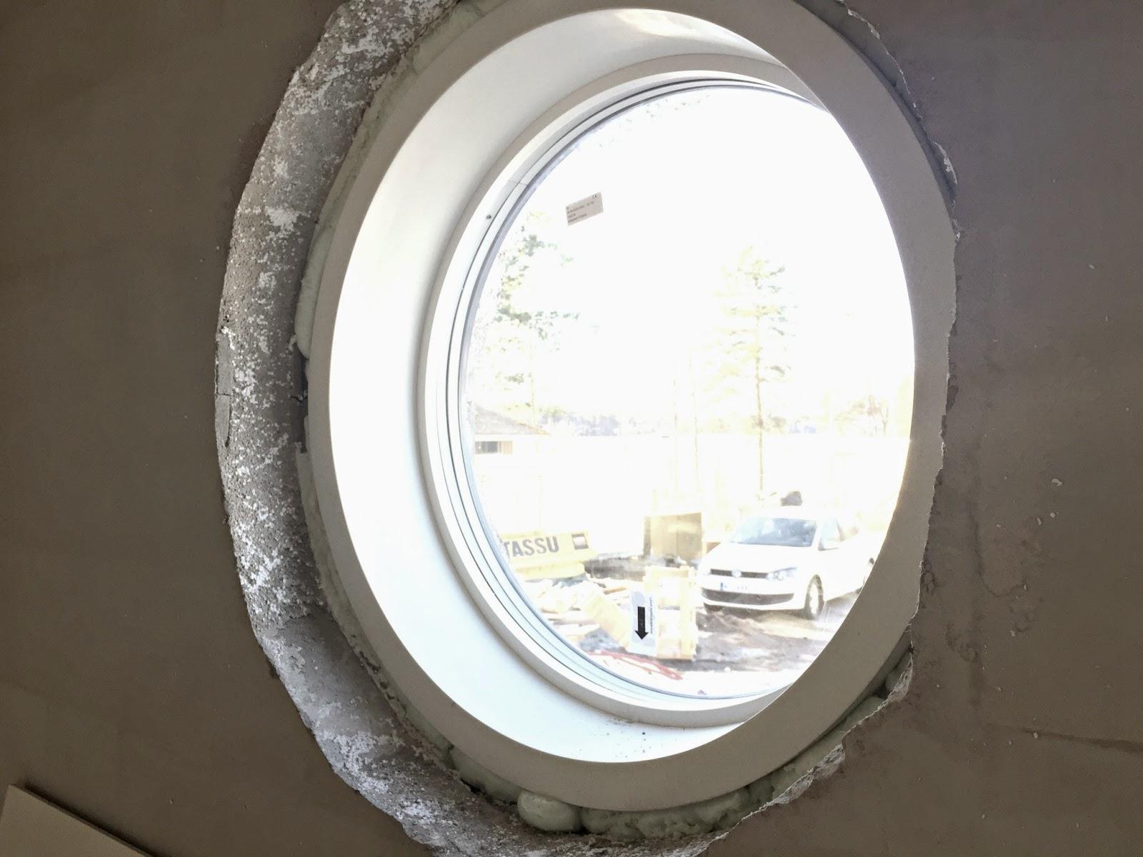 ikkuna, pyöreä ikkuna, skaala