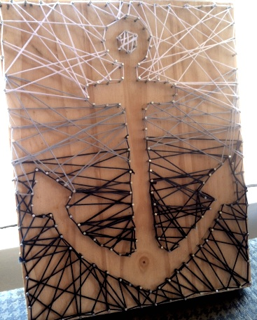 nautical string art