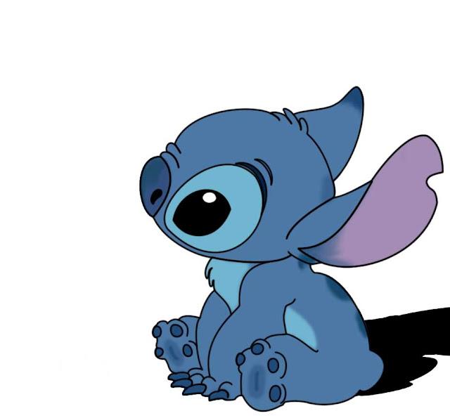 Desenho Stitch - Lilo e Stitch colorido