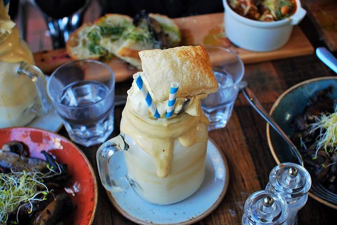 Patissez Canberra Famous French Vanilla Milkshake
