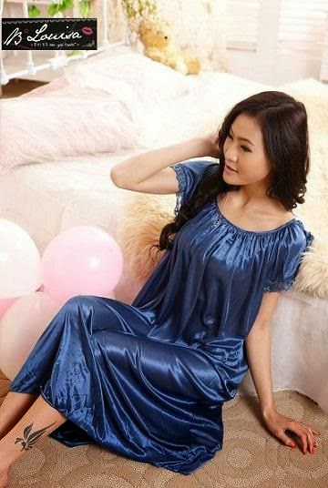 SleepWear SL1120 Dark Blue Terusan