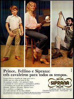 propaganda calçados Siprana anos 70; sapatos decada de 70; moda anos 70; propaganda anos 70; história da década de 70; reclames anos 70; brazil in the 70s; Oswaldo Hernandez