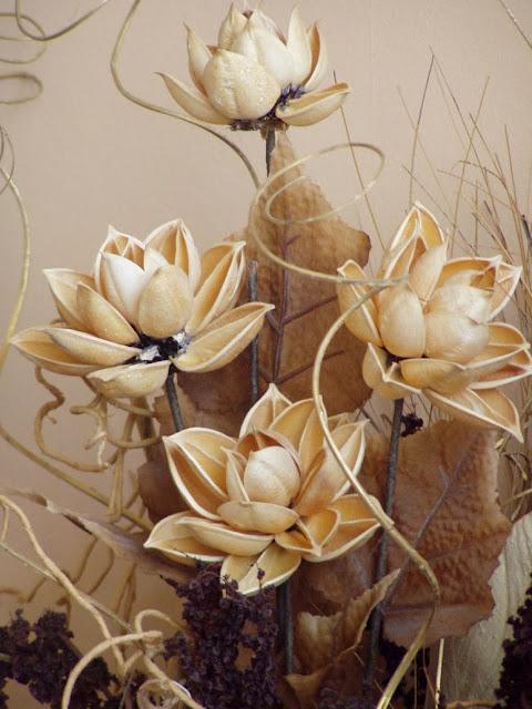 Деревянные цветы своими руками фото