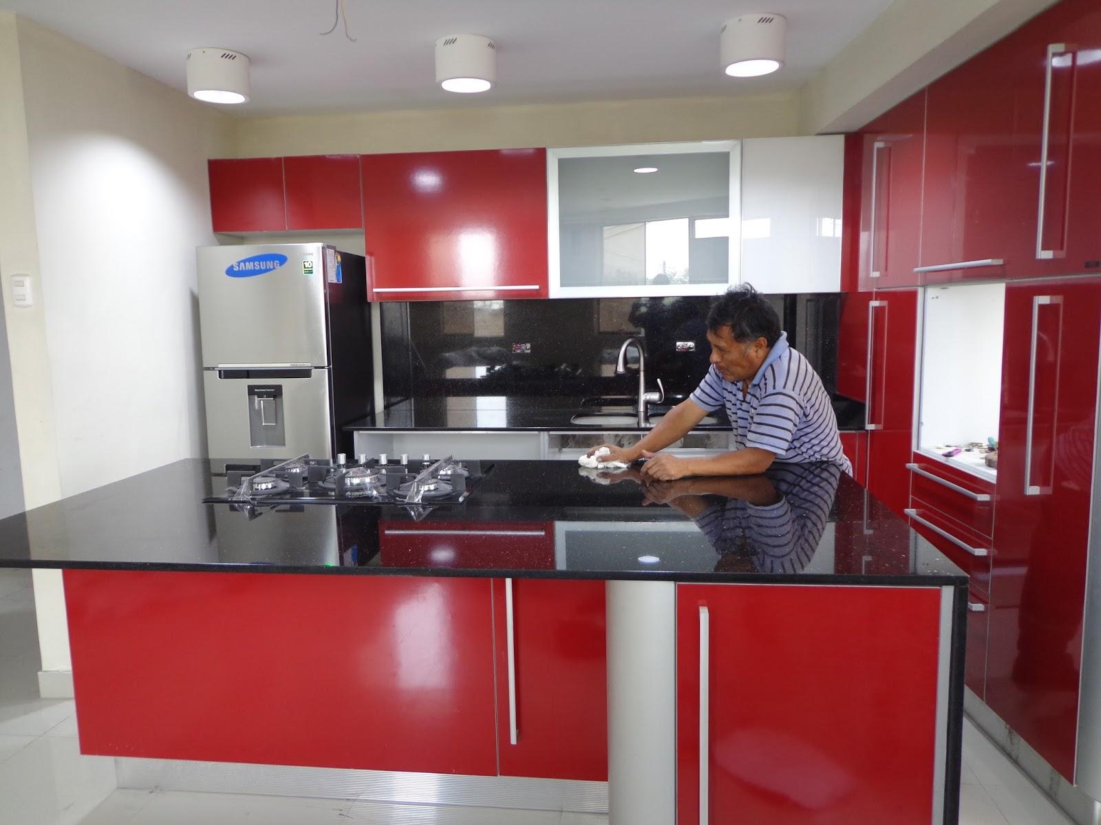 Cocinas vitroceramicas empotradas granito marmol lima - Limpiar azulejos cocina para queden brillantes ...