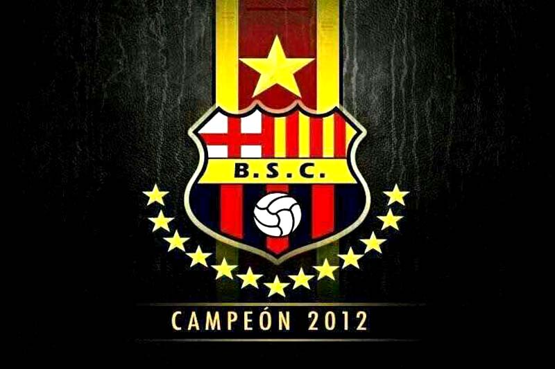 BARCELONA SPORTING CLUB CAMPEON ECUATORIANO 2012