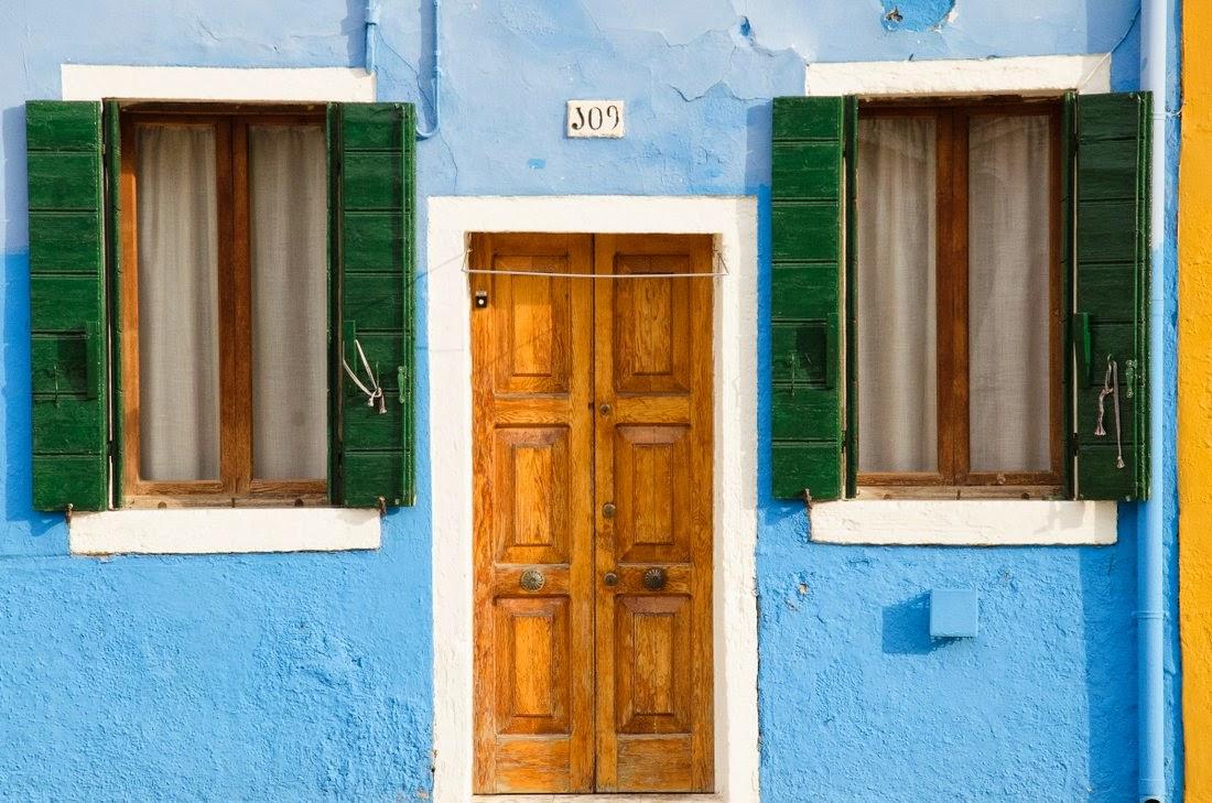 Burano - maison bleue