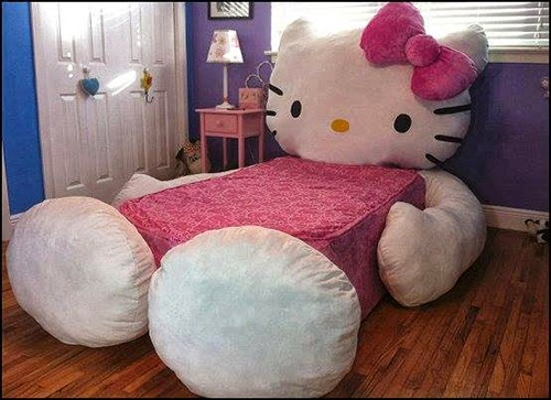 Cool Hello Kitty Bed