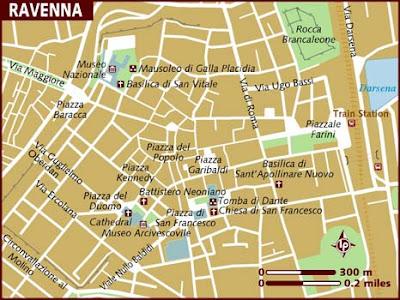 Mappa Regione Ravenna