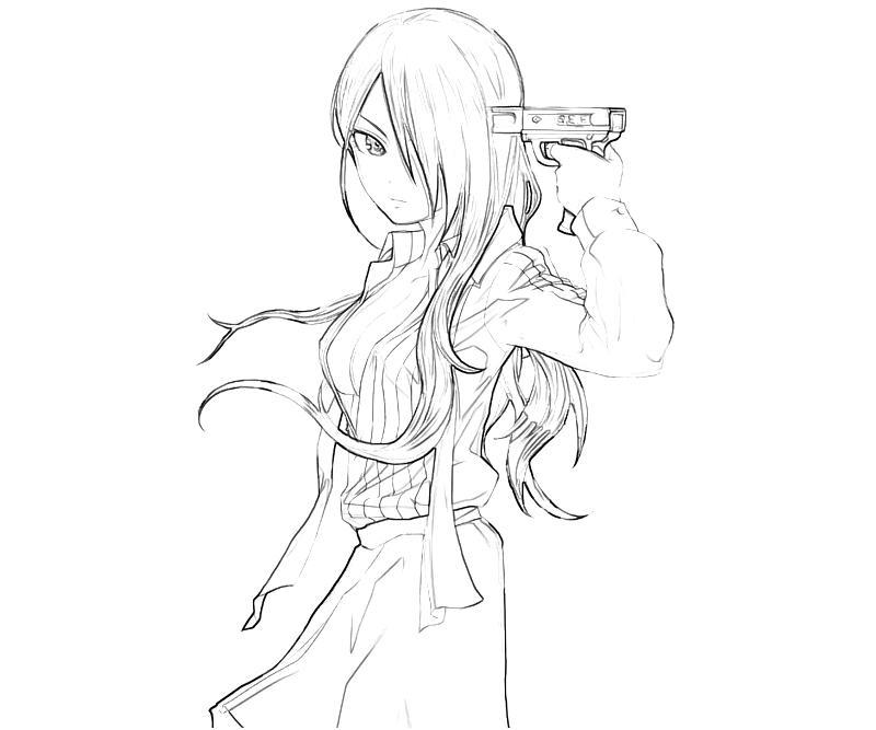 persona-4-arena-mitsuru-kirijo-cute-coloring-pages