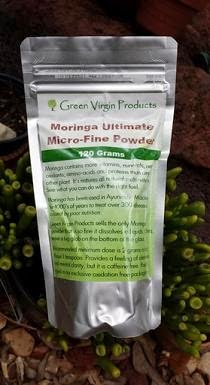 Green Virgin Extra Fine Moringa Powder