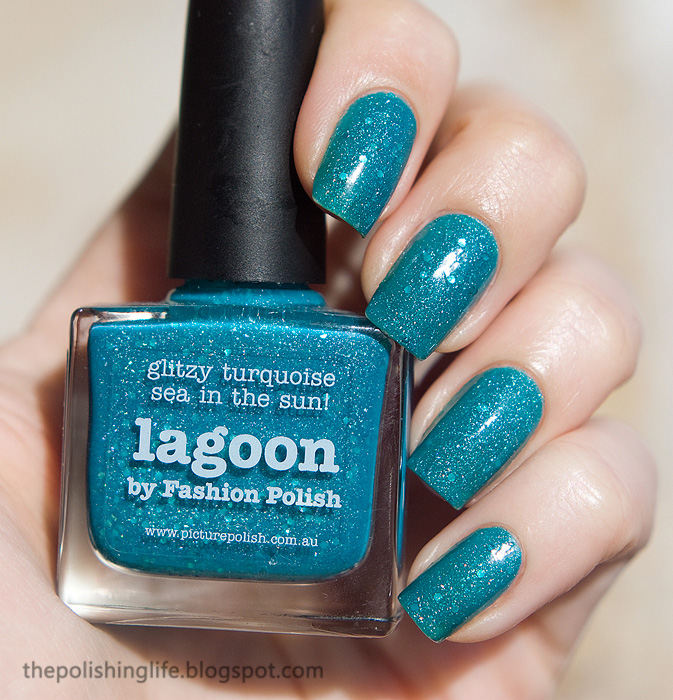 The daily nail - Picture Polish Lagoon swatches and review