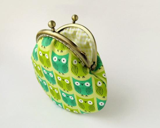 кошелек с совами, coin purse