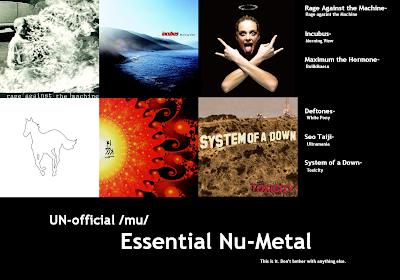 nu metal labels: