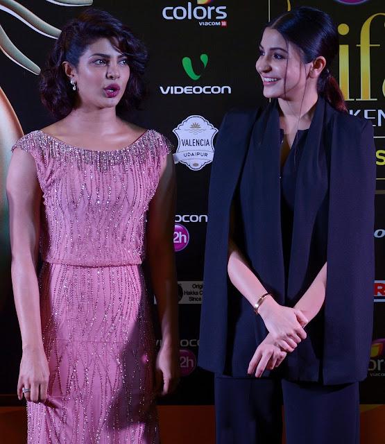 Priyanka Chopra and Anushka Sharma Super Sexy Stills From ''Dil Dhadakne Do' Screening During The 16th International Indian Film Academy (IIFA) Awards 2015 At Suria KLCC in Kuala Lumpur